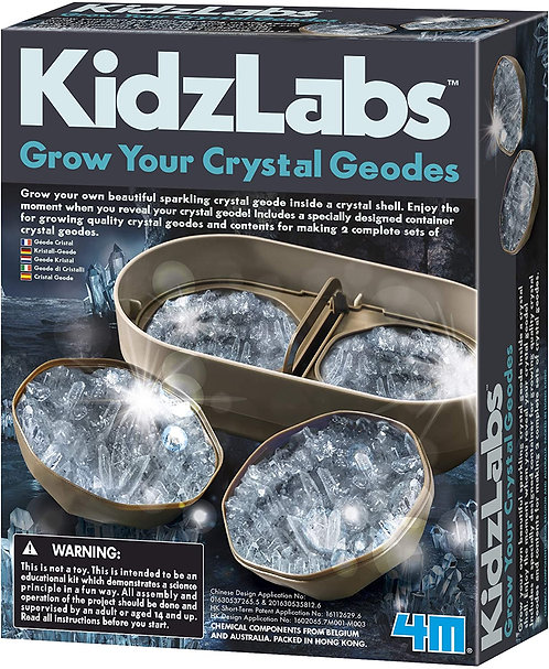 KidzLabs Grow Your Crystal Geodes