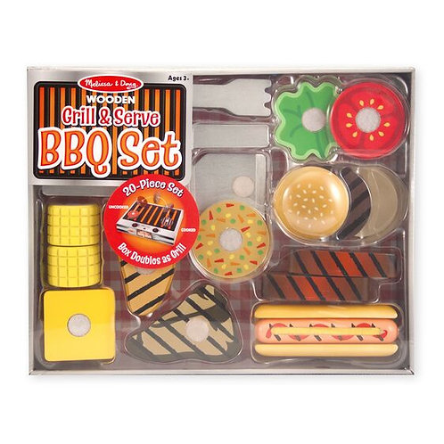 Grill and Serve BBQ Set