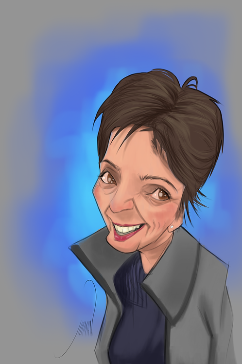 Digital Portrait Caricature (Basic)