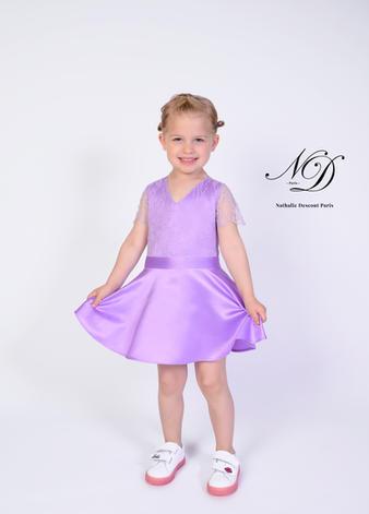 Robe Victoire Violette
