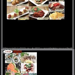 Appetizers & Sashimi