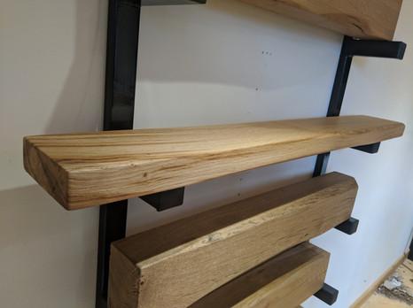 6x2 Shelf - Lightly worked - Clear