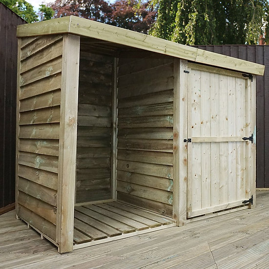 3x6 Pressure Treated Double Store