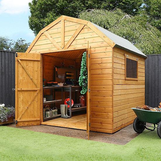 10x8 Premium Shiplap Dutch Barn