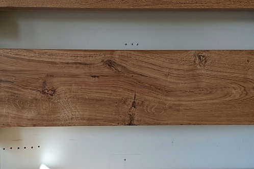 8x4 - 4ft - Lightly Worked - Dark Oak