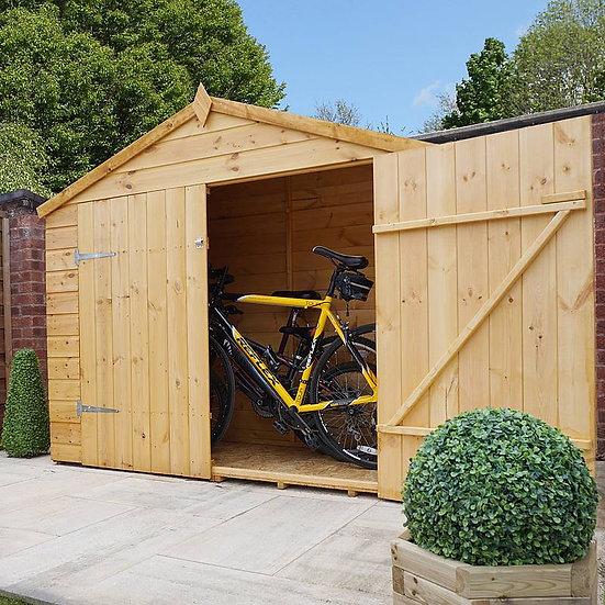 3x7 Shiplap Apex Bikestore