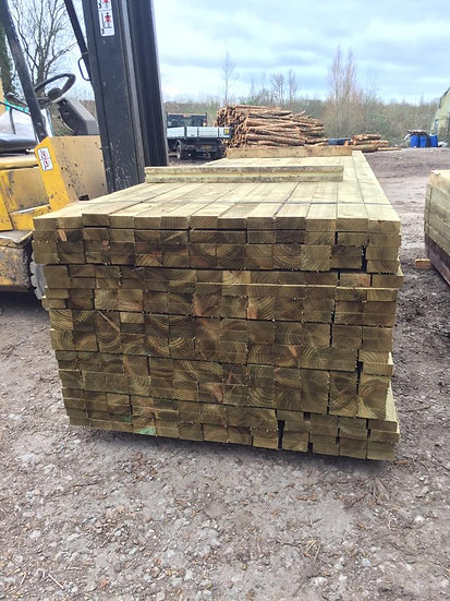 (75x22) 2x1 Sawn Treated Timber 4.8m
