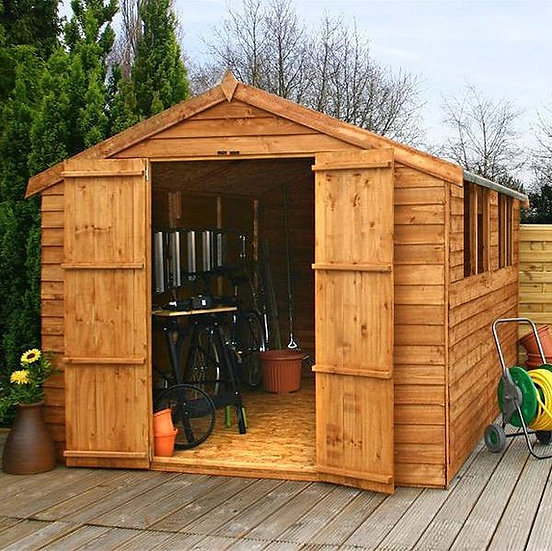 12x8 Apex Overlap Shed