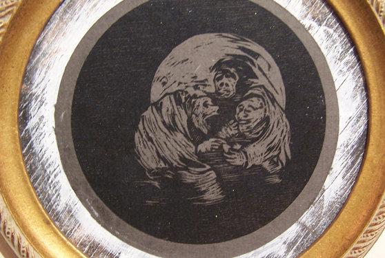 "Lindsy Davis ""Goya Rendition VI"""