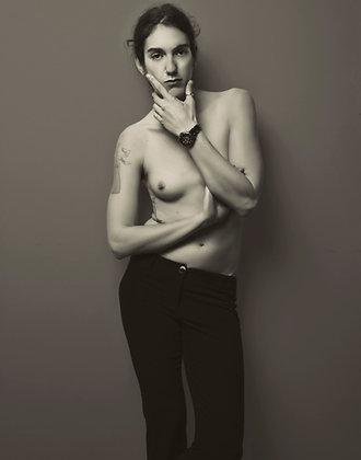 "Nina Covington ""Portrait of Jacs"""