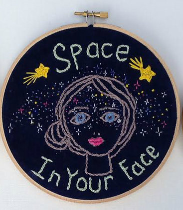 "Miranda Crump  ""Space In Your Face"""