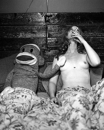 "EJ Holmes ""Annalee and a Stuffed Monkey"""