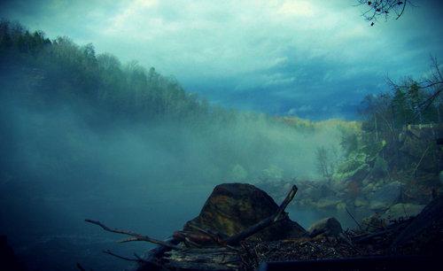 Misty Falls