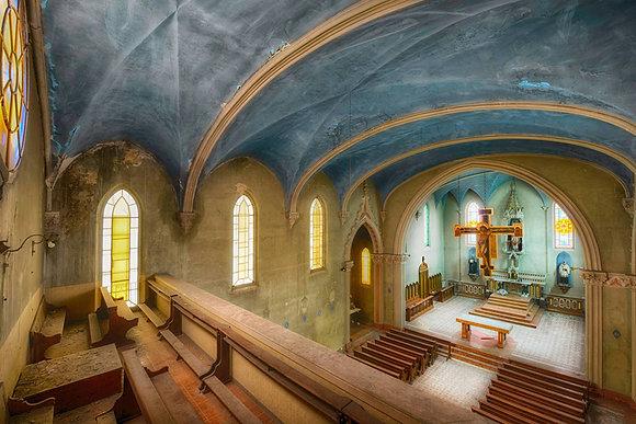 """Luc De Cock """"The Blue Chapel"""""""