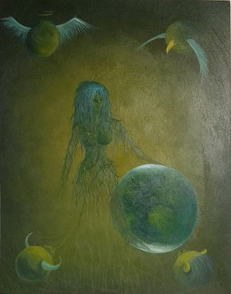 "Lisa Eisenga ""The World"""