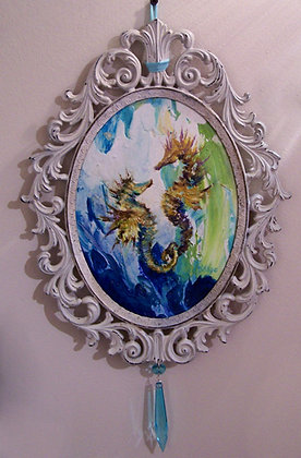 "Dina D'Argo ""Seahorses in Love"""