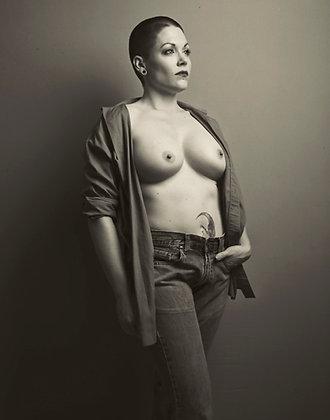 """Nina Covington """"Portrait of Moxie"""""""