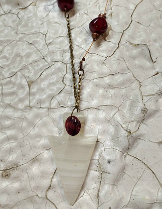 Elemental NRG Necklace - Bright White Reds
