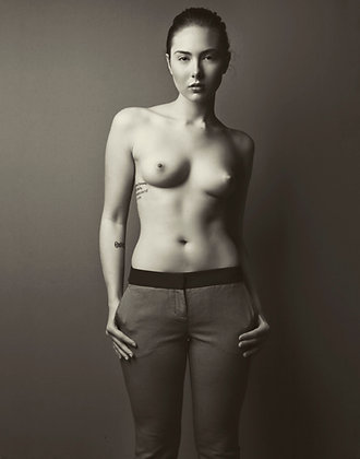 "Nina Covington ""Portrait of Aubrey"""