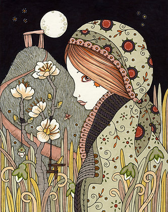"Anita Inverarity  ""Brigid's Blessings"" (Imbolc)"