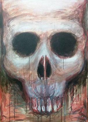 """Stephen Zerne """"Skull"""""""