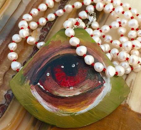 Eyes Wide Open Pendant