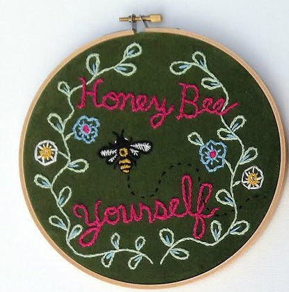 "Miranda Crump  ""Bee Yourself """