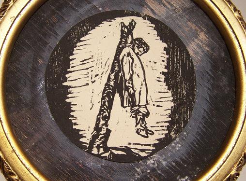 """Lindsy Davis """"Goya Rendition III"""""""