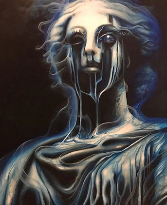 """Marilyn Garrett """"Blue"""""""