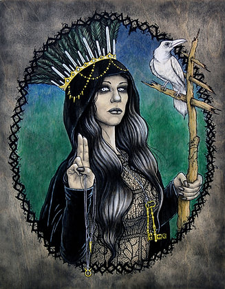 "Heather Rose ""The Hierophant"""