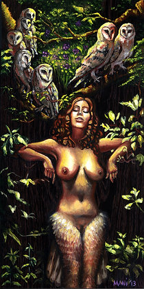 "Mani C. Price ""Lilith Under the Huluppu Tree"""
