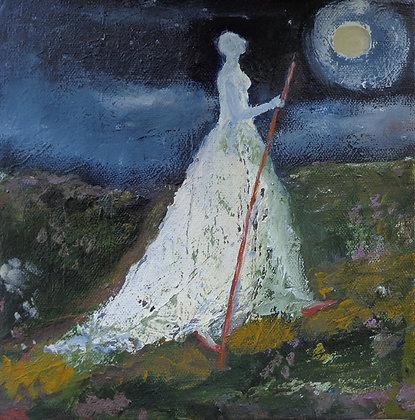"""Jeanie Tomanek """"Proceeding in Moonlight"""""""