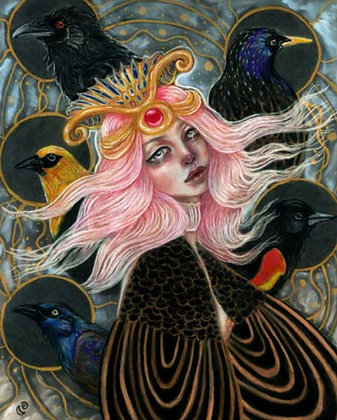 "Tammy Mae Moon ""My Soul Flies With Blackbirds"""