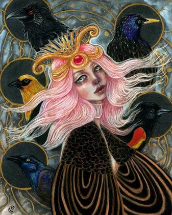 "Tammy Mae Moon ""My Soul Flies With Blackbirds"""