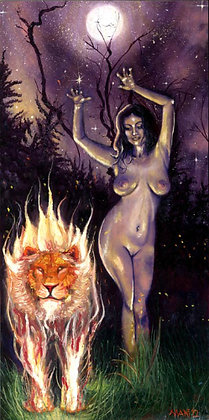 "Mani C. Price ""Lilith in the Wilderness"""
