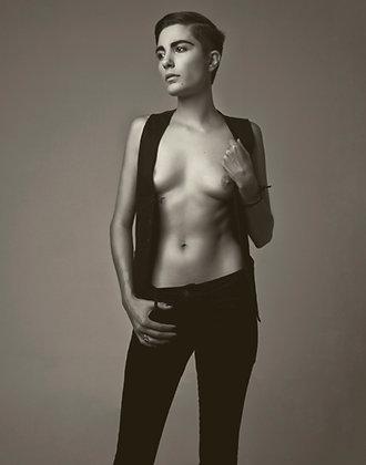 "Nina Covington ""Portrait of Roarie"""