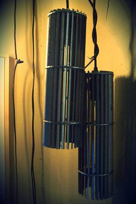 Hanging Aluminum Lamps - Custom