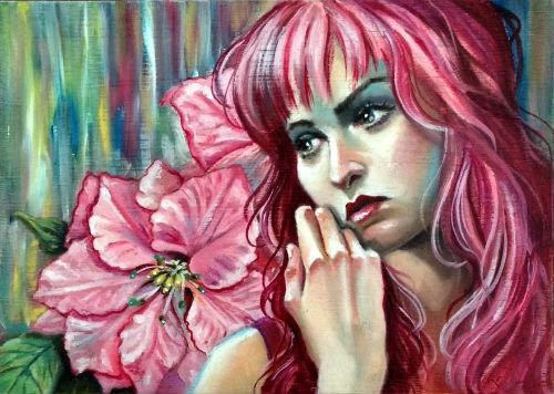 """Catherine Moore """"Wishful Reverie"""""""
