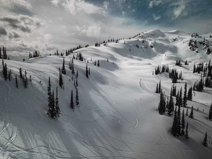 Backcountry Views (Aerial) in BC