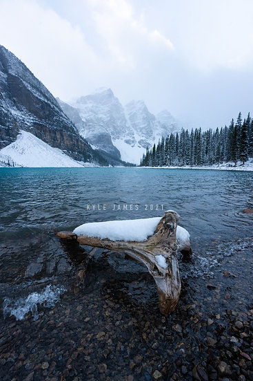 This is Moraine Lake