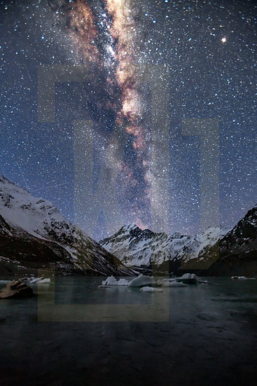 Mount Cook / Milky Way