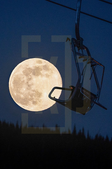 Chairlift to the Moon (Vertical Crop)