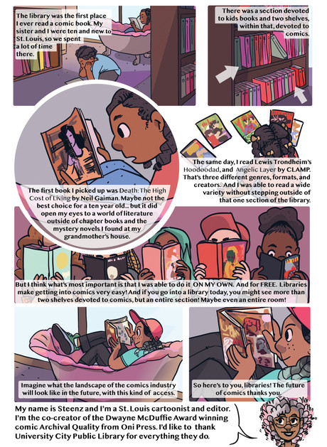 The Importance of Graphic Novels in Libraries