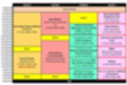 2020 Synergy New England SUNDAY Schedule