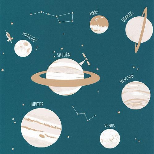 CASELIO - OUR PLANET - UNIVERSE - BLEU JEAN / BEIGE BEIGE OUP101906011