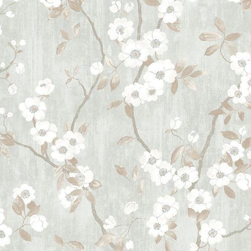 CASADECO - DELICACY - SPRING FLOWER TAUPE/BLEN 85396208