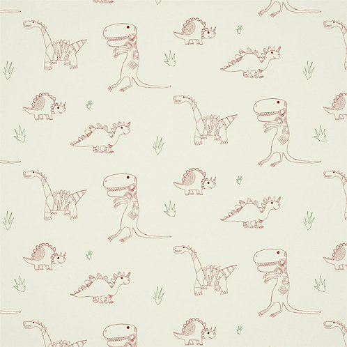 HARLEQUIN - BOOK OF LITTLE TREASURES - JOLLY JURASIC 112654 STRAWBERRY EMERALD