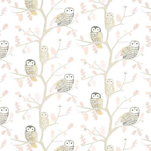 HARLEQUIN - BOOK OF LITTLE TREASURES - LITTLE OWLS 112628 POWDER