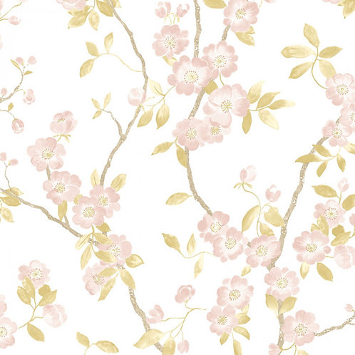 CASADECO DELICACY SPRING FLOWER TAUPE/ROSE 85394346