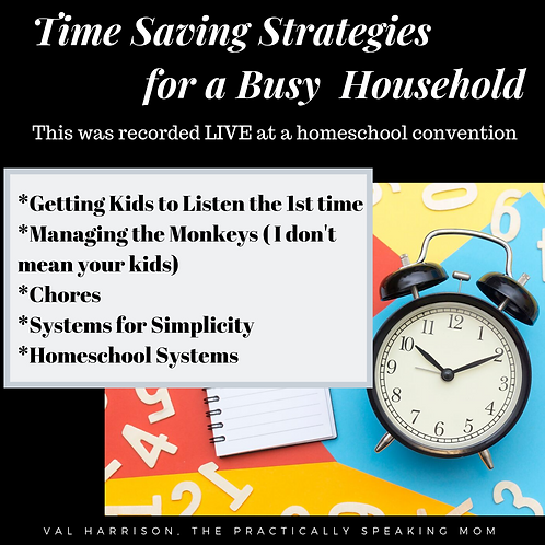 Time-Saving Strategies for Busy Homeschoolers